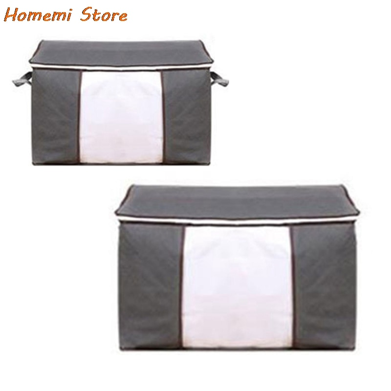 actionclub multifunction non woven cloth closet dust proof moisture proof high quality fabric wardrobe clothes storage cabinet Non-Woven Clothes Storage Bag Folding Quilt Dust-Proof Cabinet Finishing Box Home Storage Supplies Space Bags Organizer