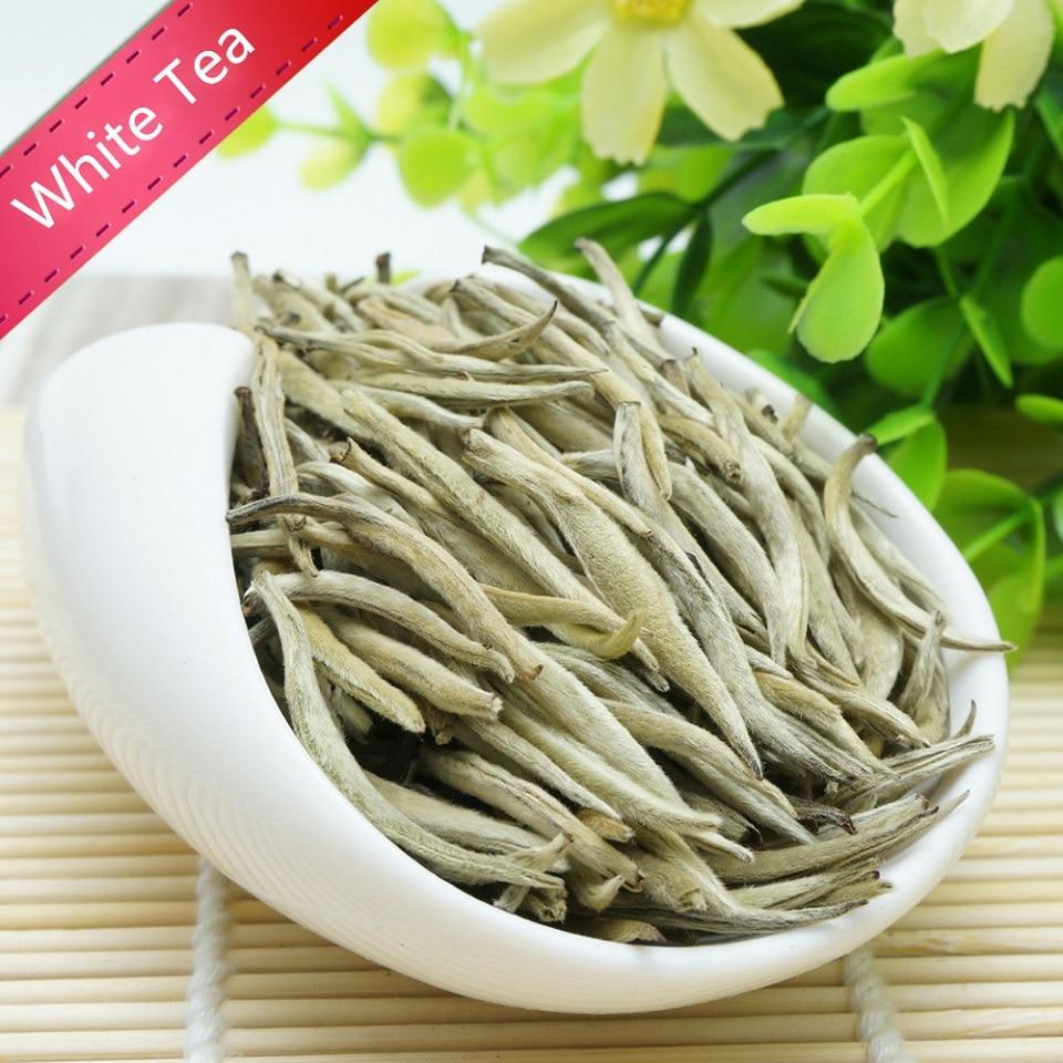 250g White Tea Chinese Bai Hao Yin Zhen White Tea Silver Needle Tea For Weight Loose Tea Natural Org