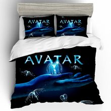 Linen Cotton Parure Lit Enfant Niceday Parure De Lit 2 Personnes Avatar Comforter Bedding Set Luxury Cartoon Comforter Bedding