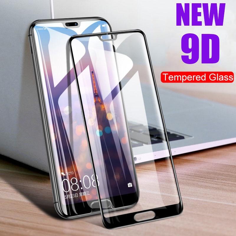9D Protective Glass For Huawei P20 Pro Lite p20lite Nova 3e nova3e p20pro Tempered Glas Hauwei 20lite P 20 Screen Protector Film