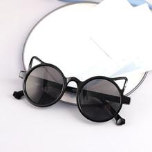 Kids Sunglasses Boy Girls Brand Cat Eye Children Glasses Boys UV400 Lens Baby Sun glasses Cute Eyewe