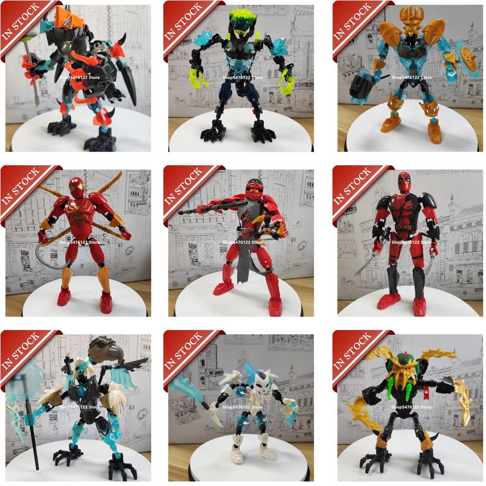 Serie KSZ XSZ leyendas de Chimaed Chimo Hero Factory héroe Bionicle Ninja acción juguete 70207 70209 70794 71310 71312 71313 71314