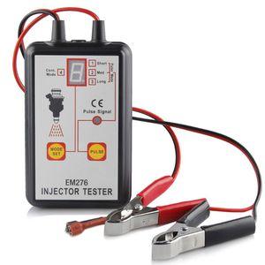 Image 1 - 1 комплект тестер автомобильного топливного инжектора EM276 инструмент для сканирования топливной системы инжектор анализатор автомобиля инструменты для диагностики автомобиля с 4 импульсными режимами
