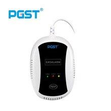 Detector de Gas Natural inalámbrico PGST para sistema de seguridad inteligente para el hogar, Sensor de fuga de Gas de carbón de GLP, receptor de alarma de incendios