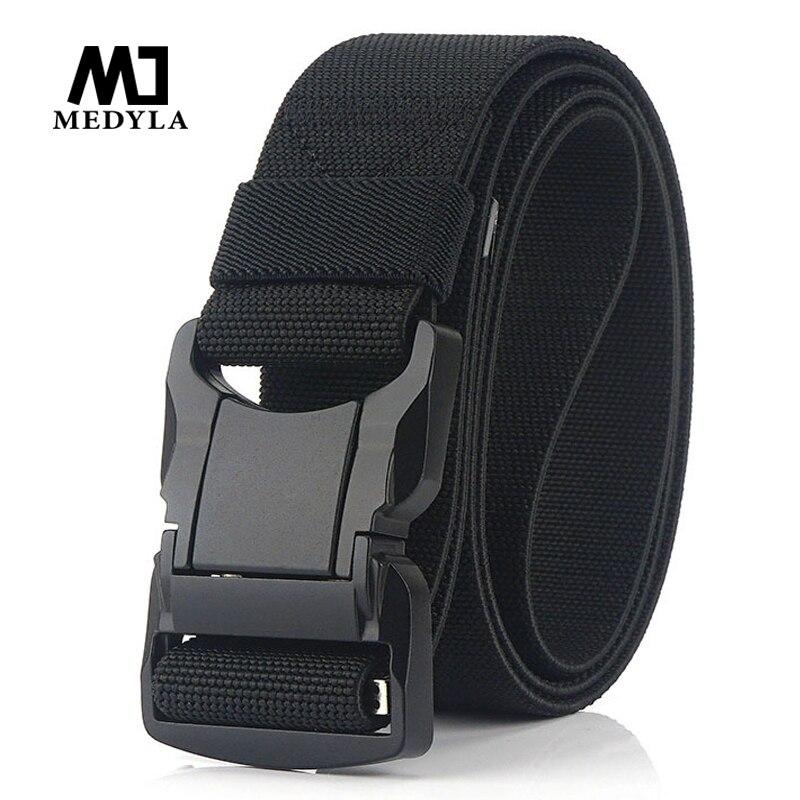 Cinturón táctico, nuevo cinturón del ejército de nailon para hombres Molle, cinturones militares de combate SWAT, cinturón táctico de supervivencia para emergencias
