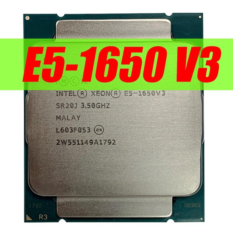 Intel Xeon E5 1650 V3 3.5GHz 6 Core 15Mb Cache LGA2011-3 CPU E5 1650-V3 Processor E5 1650V3