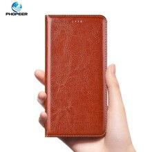 Роскошный чехол из натуральной кожи для Samsung Galaxy A52 A72 A32 A12 A02S A42 M31S M51 M01 A01 CORE Crazy Horse, чехол книжка для телефона
