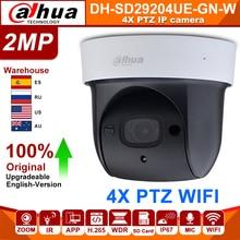 original Dahua SD29204T-GN-W 2MP 1080P 4X Optical Zoom PTZ WiFi Network IP Camera CCTV 30M Night Vision Wireless WDR ICR DNR IVS