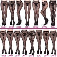 womens sexy fishnet tights jacquard weave seamless pantyhose yarns garter grid fish net stockings hose sexy lingerie collant