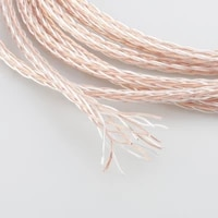 audiocrast 1619ac 16cores 6n occocc silver cable for diy headphone cable earphone headphone diy cable for custom headset