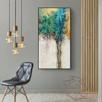 nordic modern minimalist dream tree wall art pictures painting wall art for living room home decor no frame