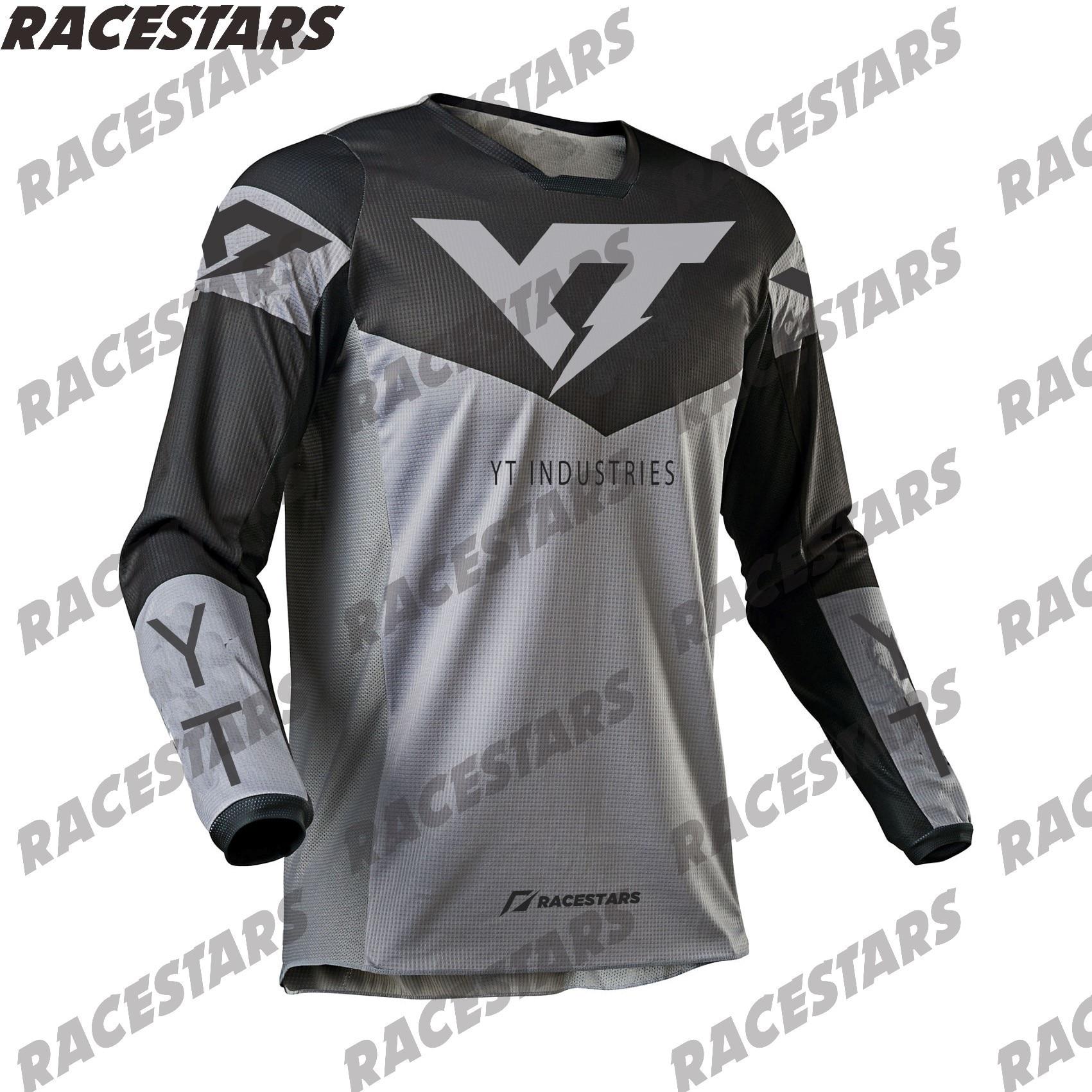 YT industrias MTB Jersey Enduro camiseta de Motocross Maillot Hombre DH Jersey...