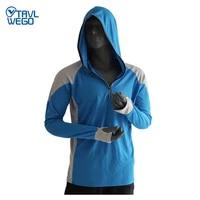 trvlwego fishing clothing men breathable upf 50 uv protection outdoor sportswear summer shirt sun protection shirt fishing
