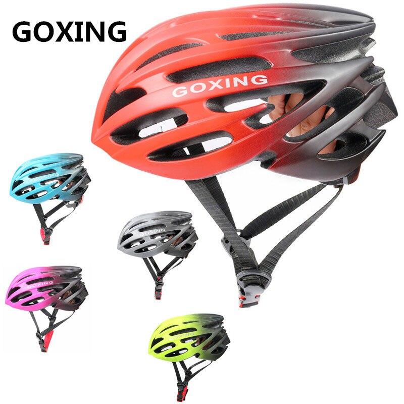 GOXING-Casco aerodinámico de seguridad para Ciclismo de montaña para hombre y mujer,...