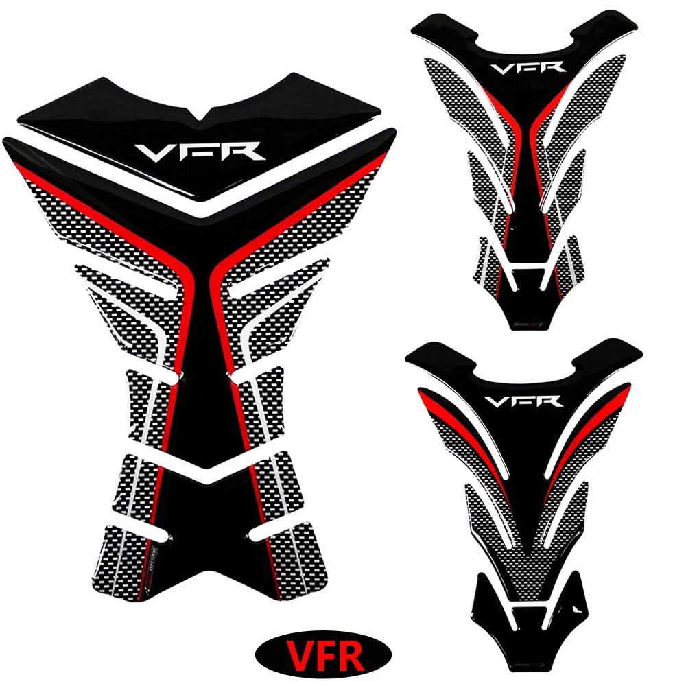 3D защитная накладка на бак мотоцикла стикеры наклейки чехол для Honda VFR 800 800F 800X1200 1200F 1200X400 бак