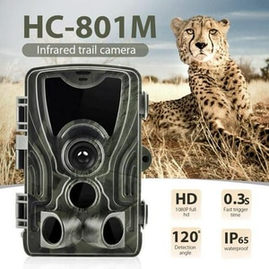 2G Trail Camera HC801M Hunting Cameras 16MP 1080P SMS Wildlife Infrared Night Vision Cameras MMS Photo Trap Surveillance Cams