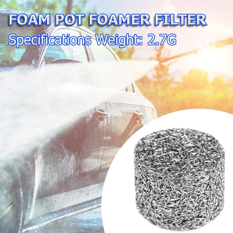 1pc Stainless Steel Foam Lance Filter Lance Mesh Tablet for Foam Generator