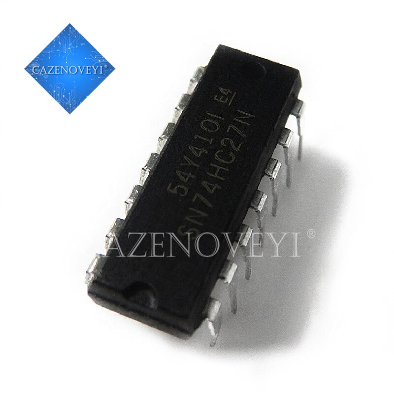 10 Stks/partij SN74HC27N HD74HC27P 74HC27 Dip-14 Op Voorraad
