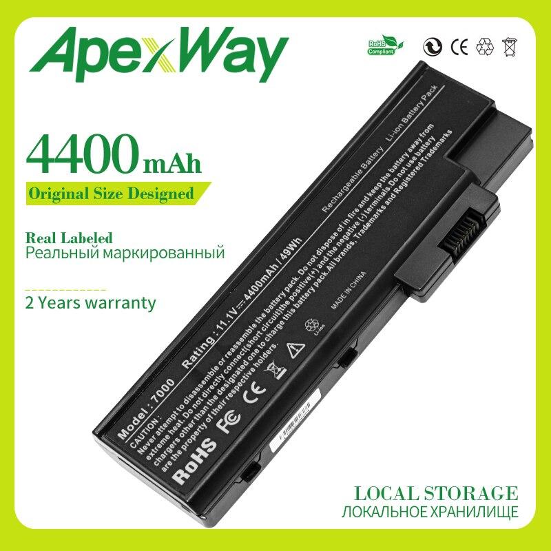 Apexway 4400mAh 11,1 v batería del ordenador portátil para Acer BTP-BCA1 Aspire...