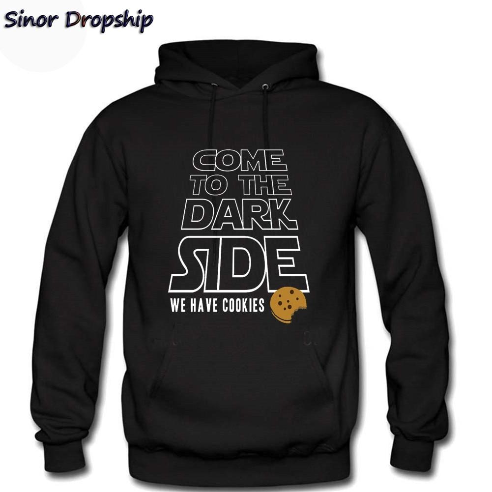 Dark Side Star Wars Funny Saying Have Cookie Design Men 3D Printed Outdoor Tracksuit Pullover Printed Mens Hoodies Sweatshirts