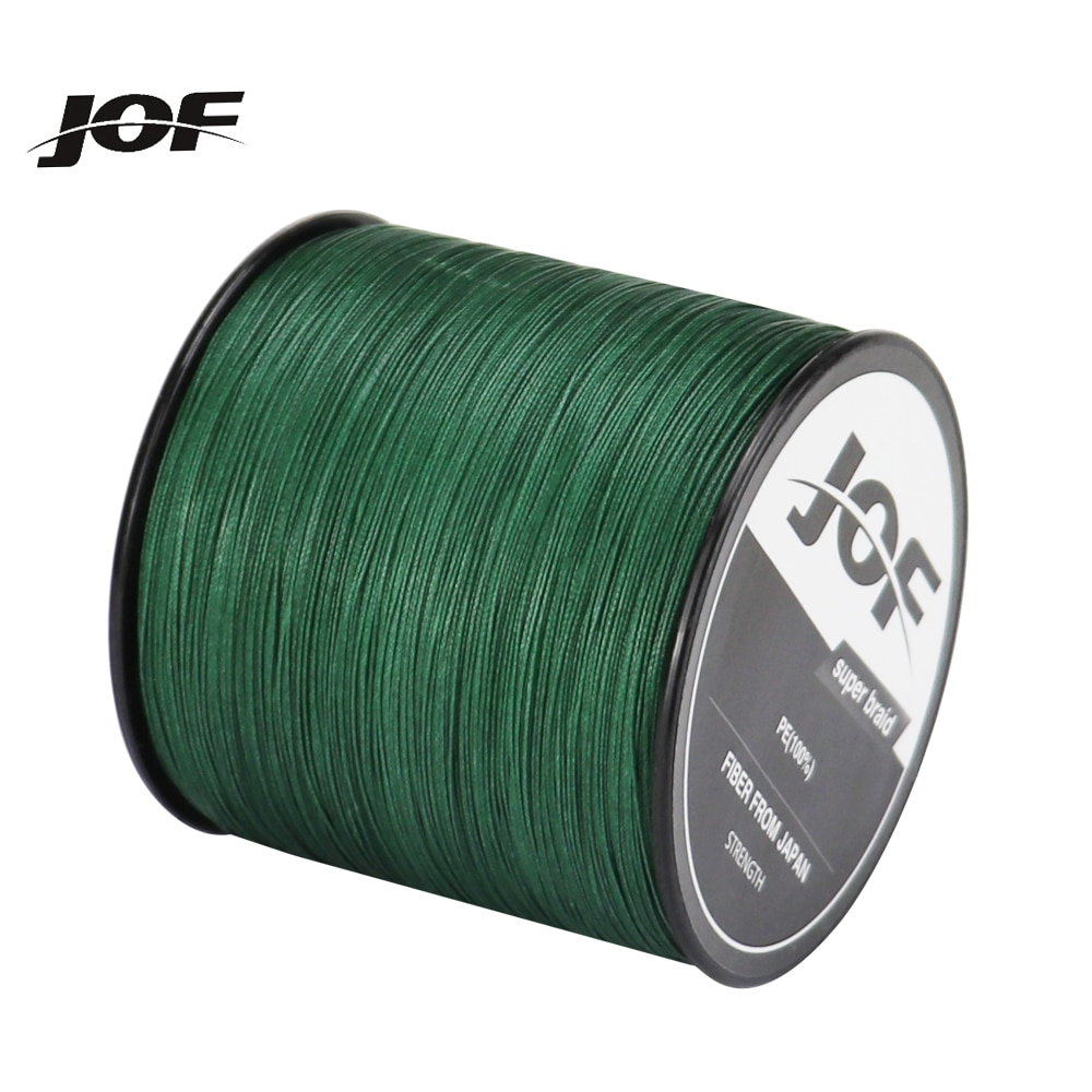 JOF 4 Strands 300M Fishing Line Braided Cord For Fishing Line Multifilament Carp Fishing Japan Fishing Line Carp  PE Braided sougayilang 300m 4 strands braided fishing line 0 6 8 0 pe fishing line 6 3 32 8kg multifilament fishing line smooth pesca