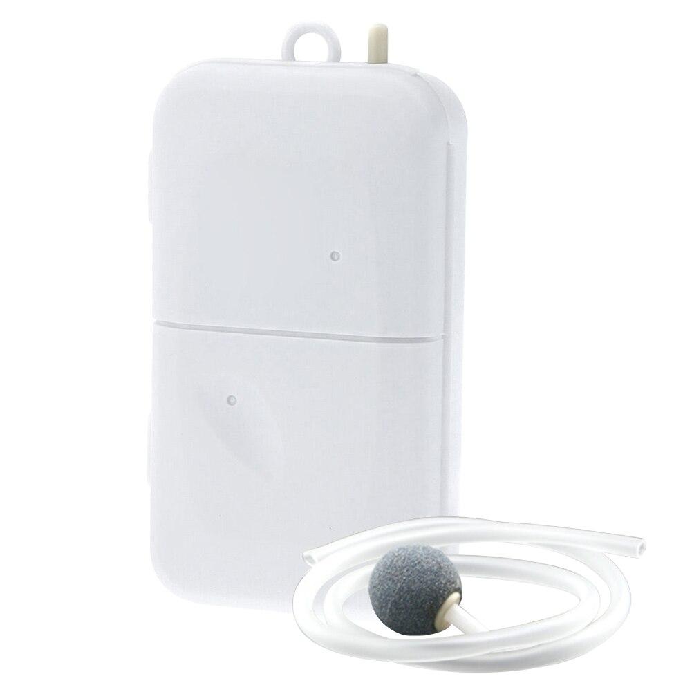 Bomba de aire portátil aireador de pesca cebo vivo oxigenado acuario alimentado por batería JA55