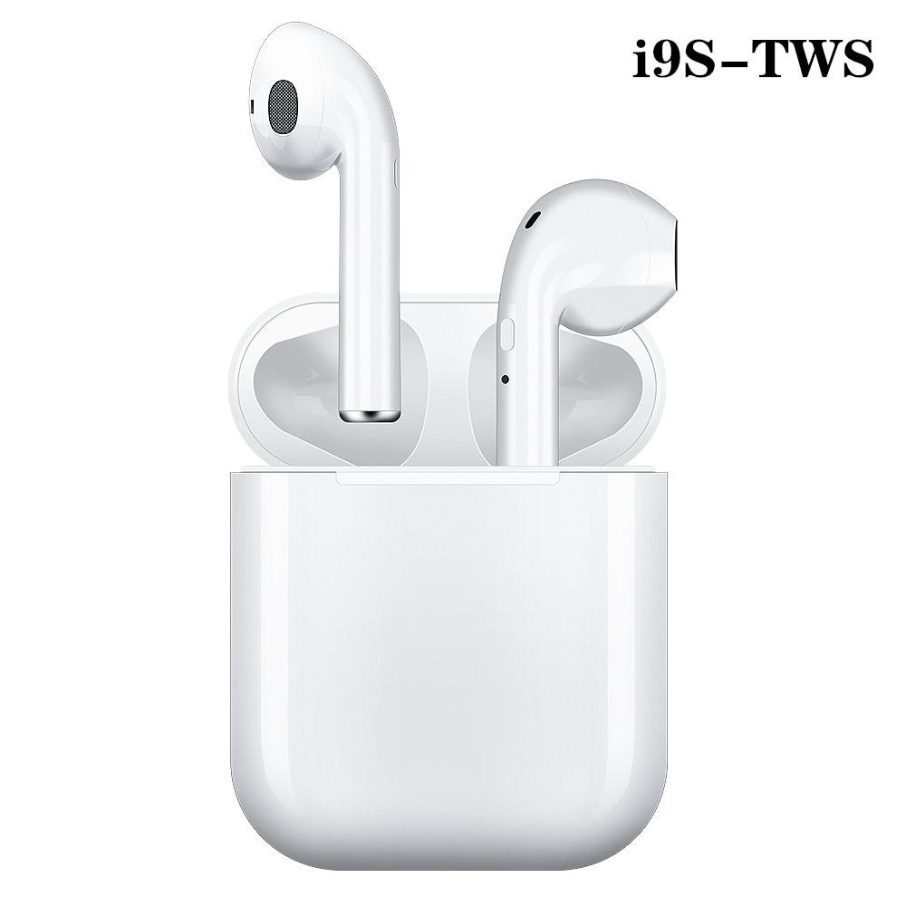 I9s Tws наушники Air Wireless Bluetooth 5,0 наушники мини наушники с микрофоном зарядная коробка Спортивная гарнитура для iphone Смартфон