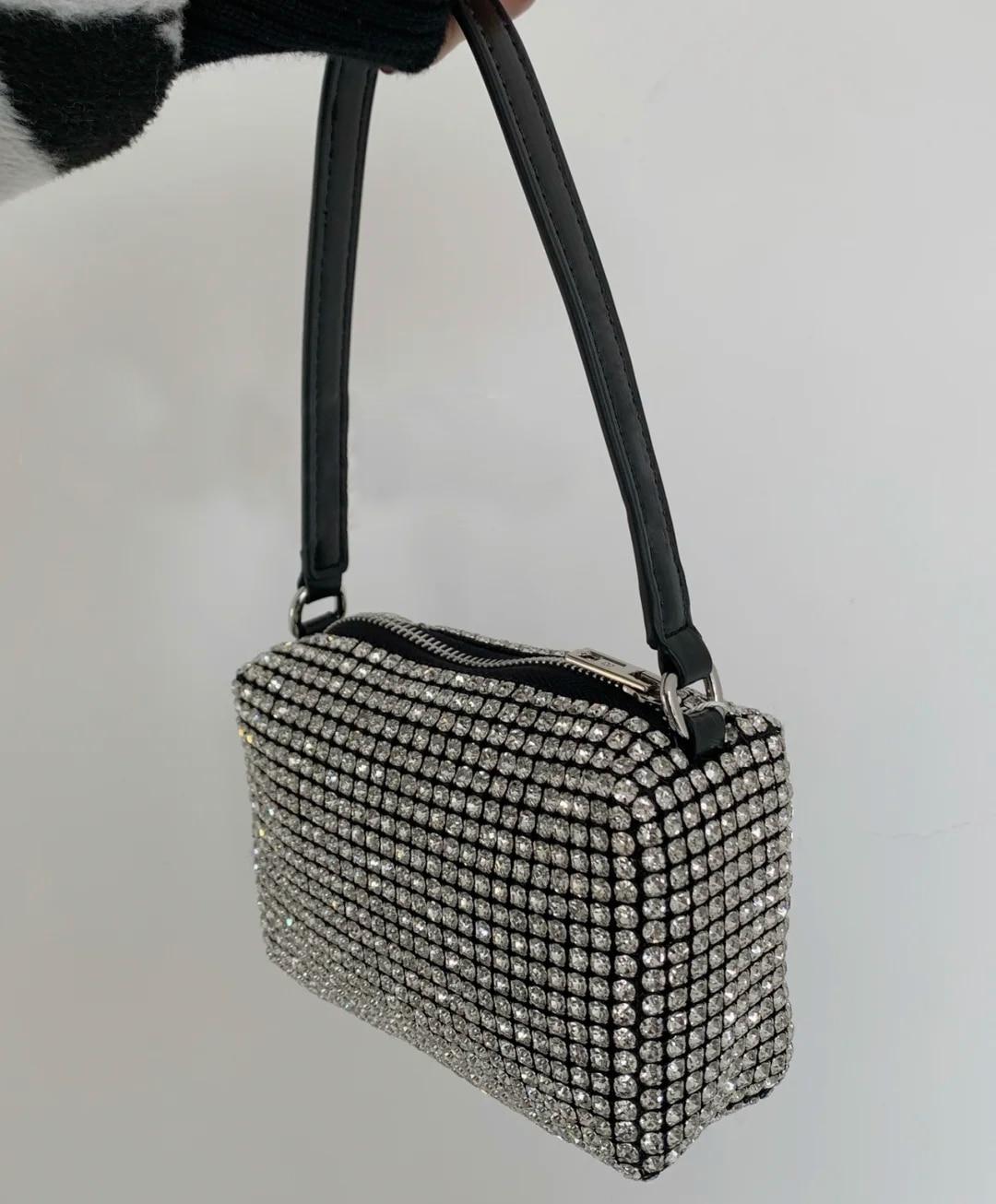 يانغ يي حقائب اليد موضة الكتف سياج محمول صندوق مربع صغير تحت الإبط