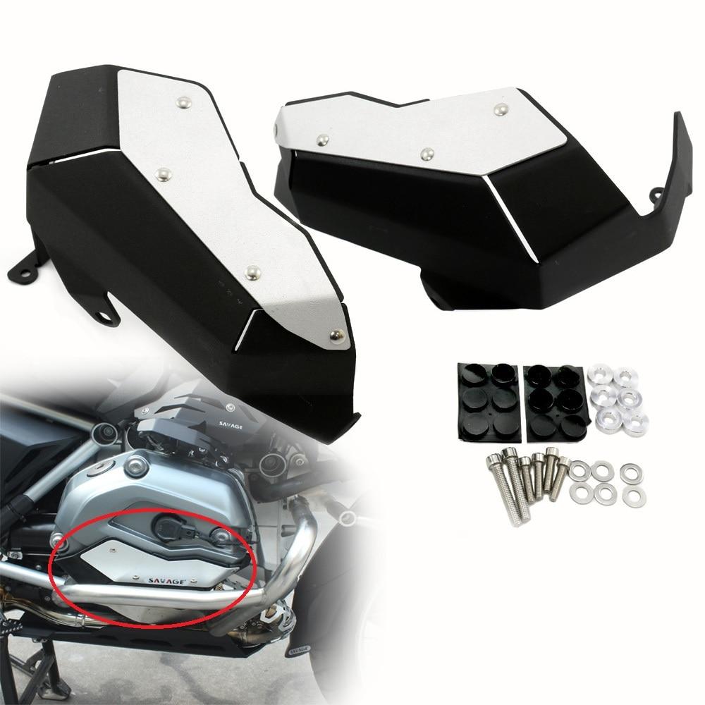 Protector de cabeza de cilindro de aluminio para BMW R1200GS / ADV, 2013-on (refrigerado por agua)