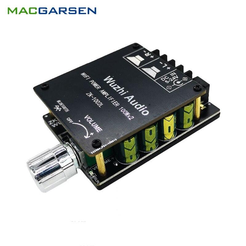 Bluetooth Amplificador De Potencia De Audio De Mini Hifi Amplificador De Potencia...
