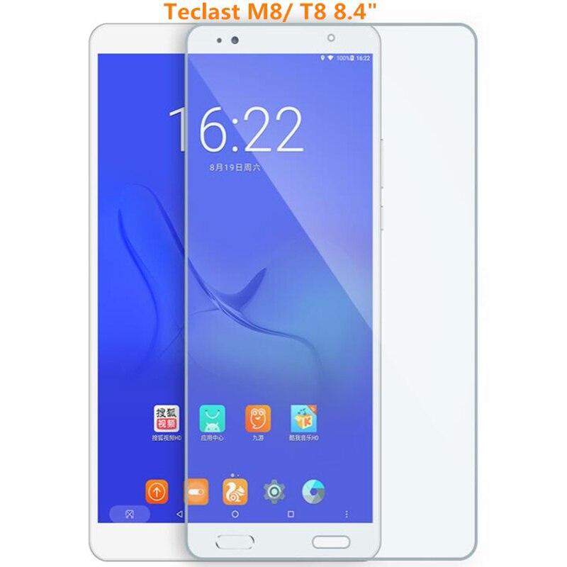 """Новейшее высококачественное закаленное стекло для Teclast M8 8,4 """"планшетный ПК, Защитная пленка для экрана для Teclast M8 планшетный ПК"""