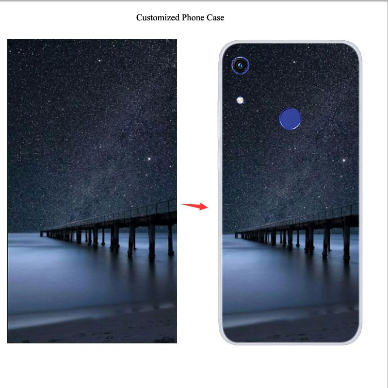 Niestandardowe krzemu skrzynka dla Honor 8A Pime 8S 8X Max 9X 20 Lite 20S 20 Pro Case dostosowane DIY miękka pokrywa dla Huawei Y6S Y9S Y7P
