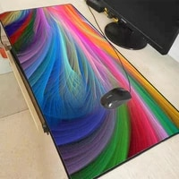 mairuige wallpaper colorful extra large mouse pad mousepad anti slip natural rubber gaming mouse mat with locking edge for csgo