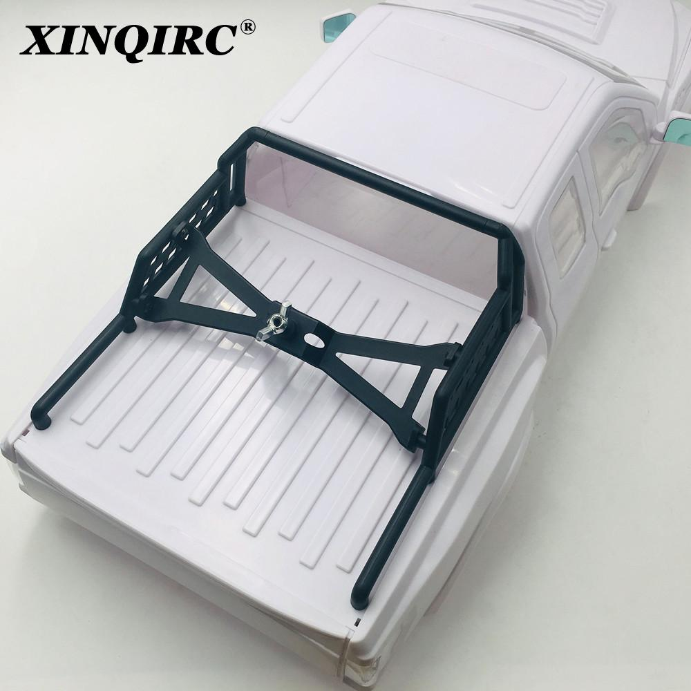 Racing ABS Ford Raptor Hard Body with Bumper & Spare Tire Rack 325mm Body Shell White for RC Crawler Car Traxxas TRX4 TRX-4 enlarge