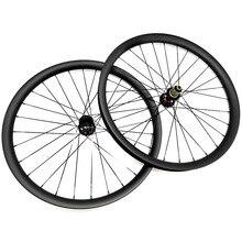 Bicicleta aro ruedas 27,5x45x30mm bicicleta rueda tubeless novatec D791SB D792SB 110x15 142x12 mtb disco de juego de ruedas de carbono Pilar 1420