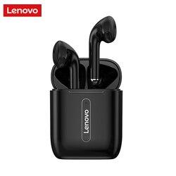 Lenovo x9 sem fio bluetooth fones de ouvido controle toque v5.0 estéreo música fone redução ruído com microfone hd 300mah caso carregamento