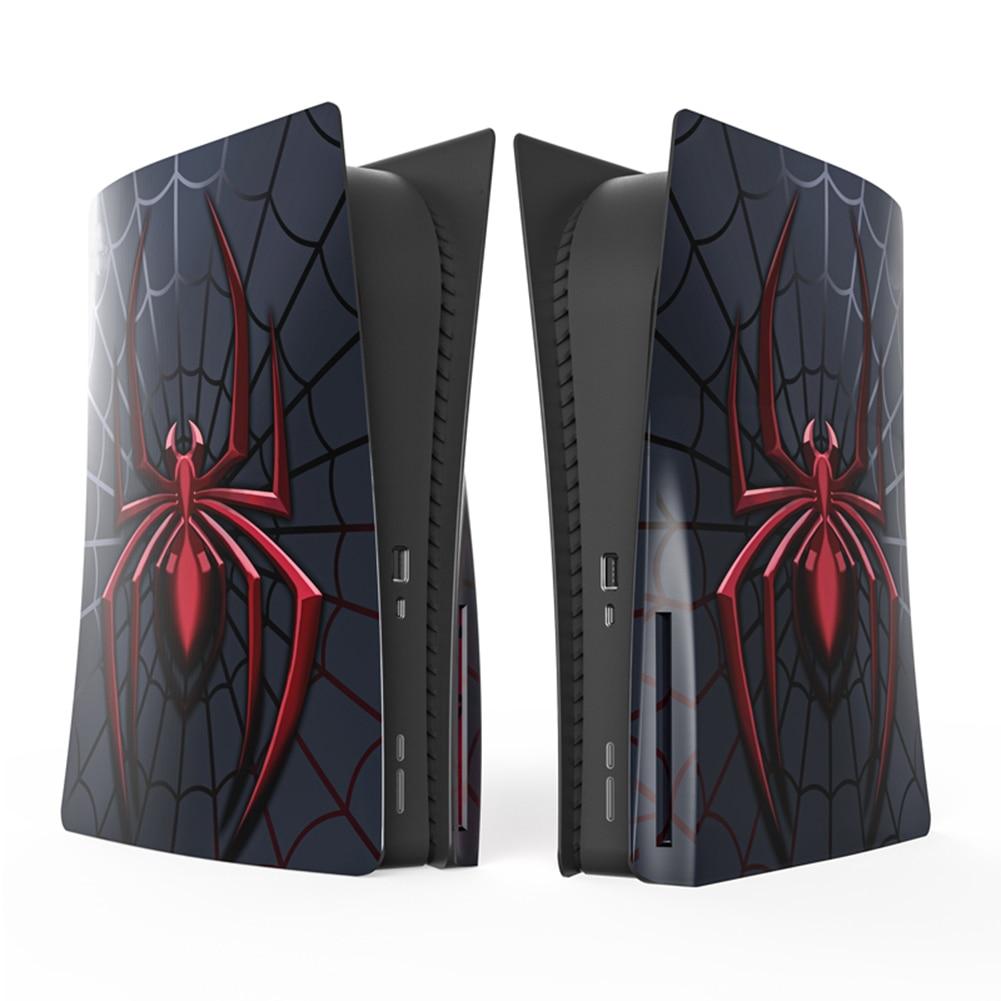 ل PS5 لوحة حافظة غطاء أغطية القرص الطبعة استبدال لوحة غطاء ل PS5 لعبة وحدة التحكم لوحات الجلد قذيفة