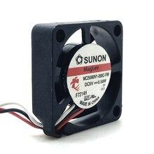 Dla Sunon 2.5cm 2506 5V 25X25X6mm ultra cienki 6mm mikro wentylator mc25060v1-000c-f99 dekoder router wentylator