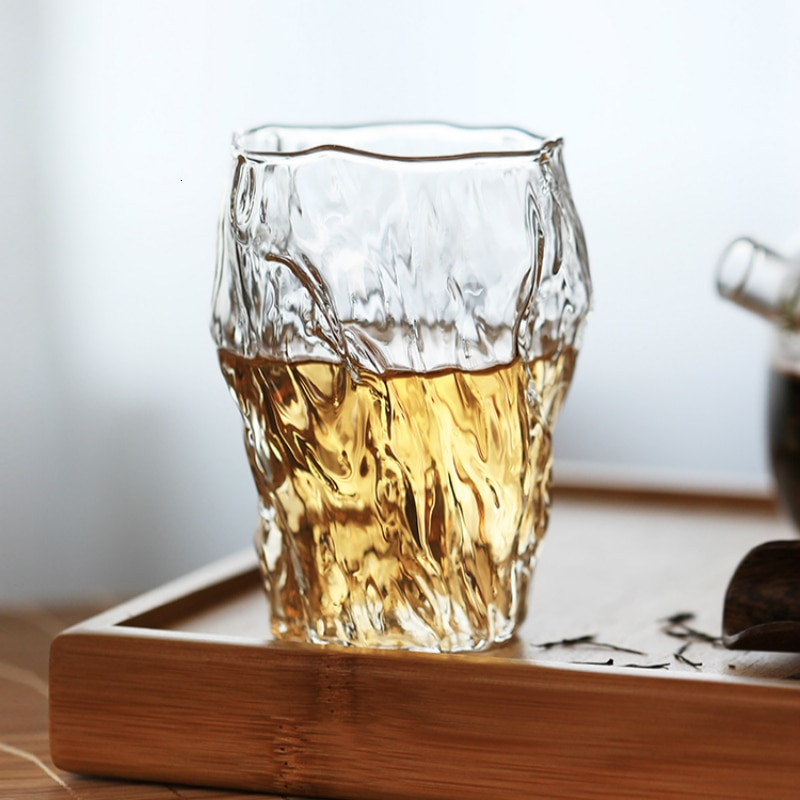 Vaso de Whisky con forma de estaca, diseño creativo japonés, licor clásico, Brandy, champán, cerveza, taza de agua del té, Bar, fiesta doméstica, Vaso