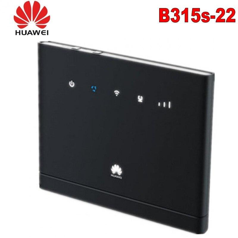 Unlocked Huawei 4g LTE Wifi Router 150Mbps 4G FDD TDD wireless gateway CPE