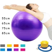 sports yoga balls fitness ball thickened explosion proof exercise home gym pilates equipment massage balance ball 55cm 65cm 75cm
