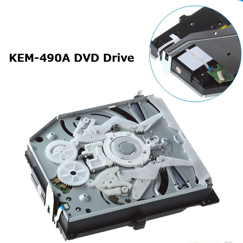 الأصلي بلو راي دي في دي استبدال محرك ل PS4 KEM-490AAA KES 490 490A واحد العين محرك BDP-020 دي في دي ليزر عدسة