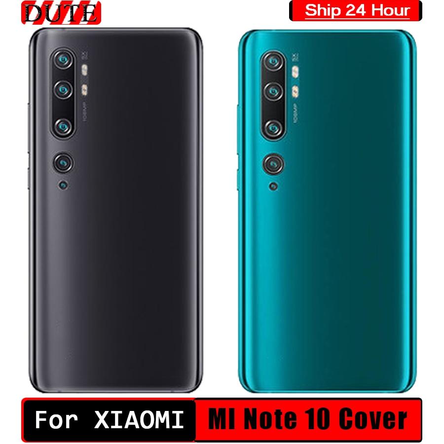 Xiaomi Mi Note 10 For Mi Note 10 Back Battery Cover Note10 Rear Glass Door Case For Xiaomi Mi Note 1