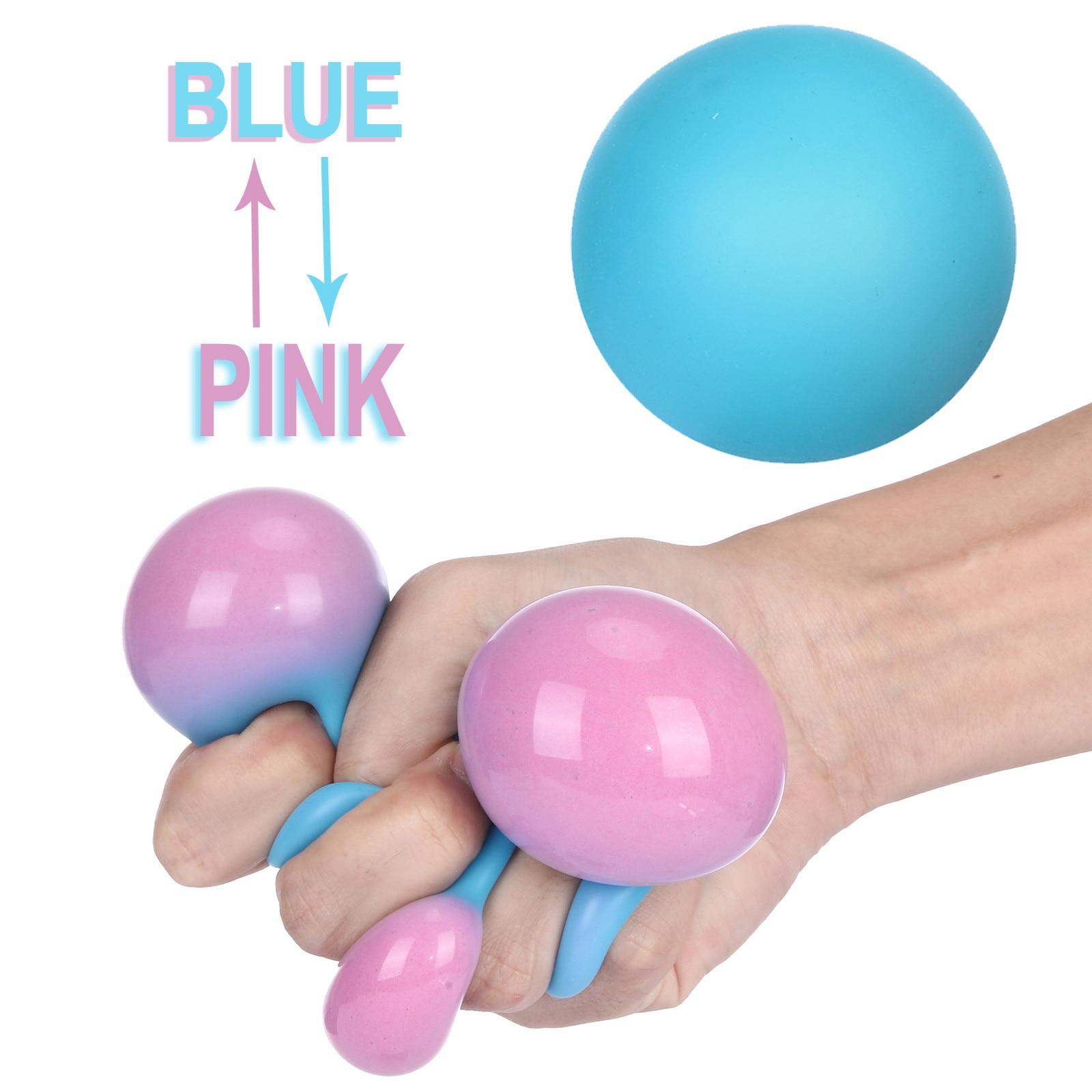 Kids Antistress Toys Colorful Wreak Ball Discolor Children Anti Stress Flour Balls Hand Squeeze Fidget Toys For Child Adult 18
