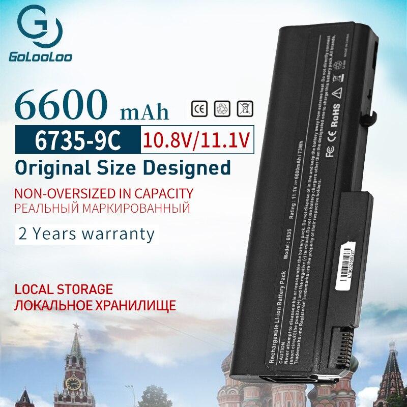 Golooloo بطارية كمبيوتر محمول ل HP 484786-001 HSTNN-IB69 586031-001 AT908AA KU531AA ل بي EliteBook 6930p 8440p ل ProBook 6440b 6535