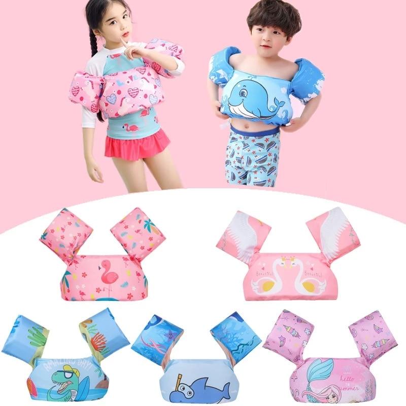 Спасательные жилеты для детского бассейна, плавательные перчатки из пенопласта, плавательные рукава для малышей, плавательные жилеты