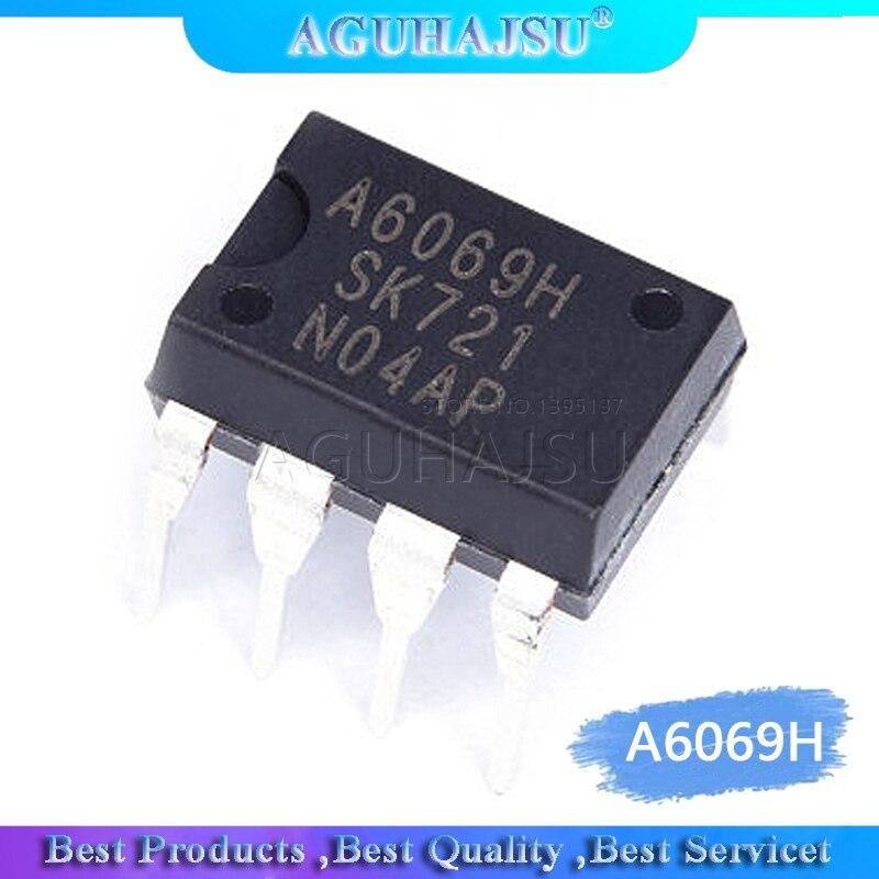 10 pces a6069h STR-A6069H a6069 dip-7 lcd chip de gerenciamento de energia