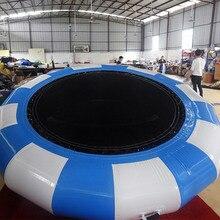 Lustige Aufblasbare wasser spielzeug 1,5 m Trampaulin für wasserpark spiele
