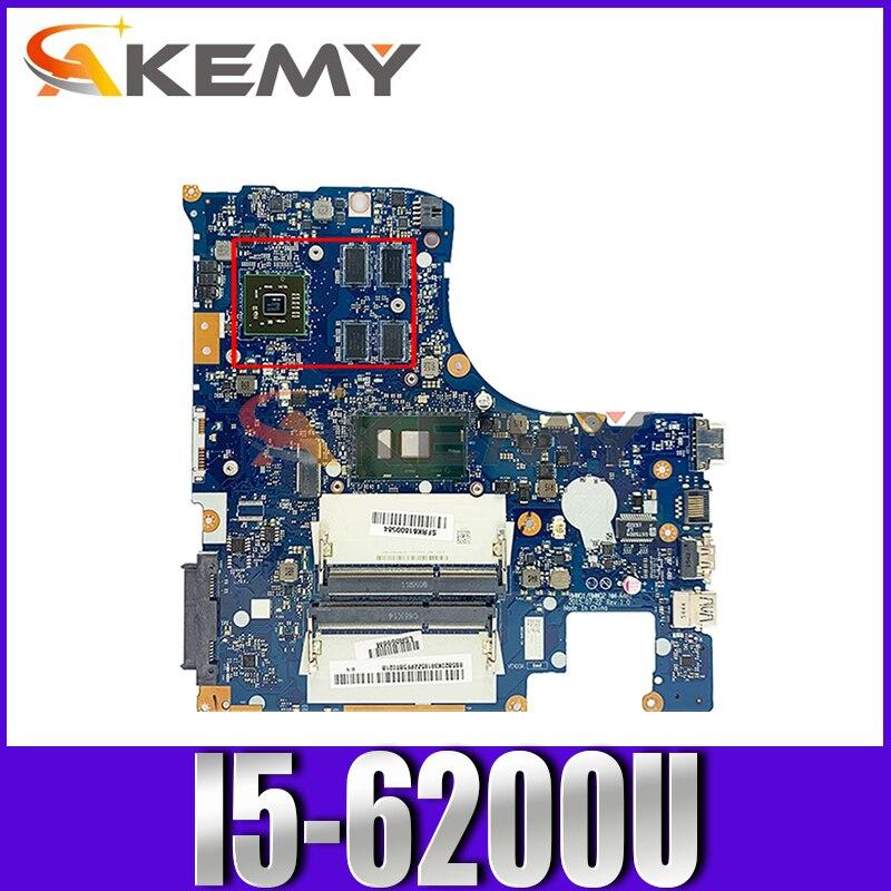 اللوحة المحمول لينوفو Ideapad 300-15ISK I5-6200U اللوحة 5B20K38221 NM-A481 SR2EY 216-0867030 DDR3