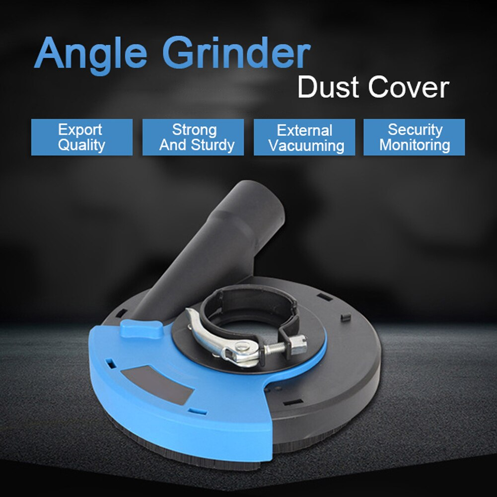 5 inches / 180 mmAngle Grinder Dust Shroud Cover Tools For Concrete Marble Granite Grinding Dust Collection Dust Shroud enlarge